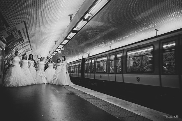 Trash the Dress des Amazones à Paris