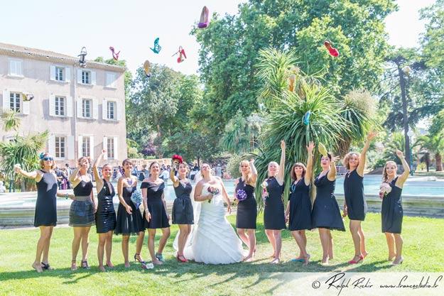 Gérer les photos de groupe de son mariage