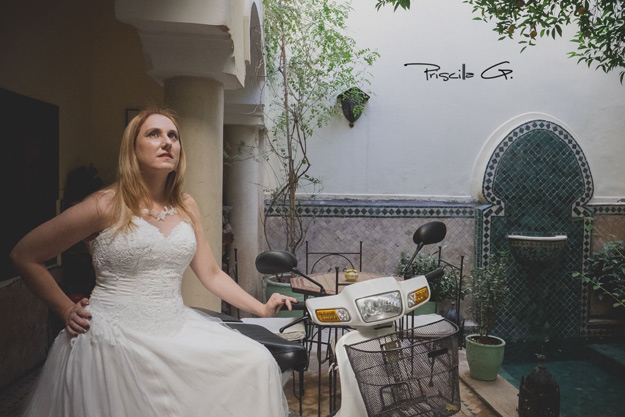 Les Gazelles de Marrakech : Trash the dress 2016