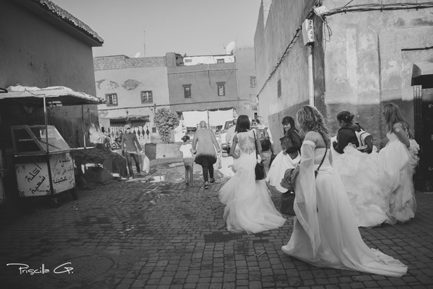 Marrakech : Le Trash the Dress 2016