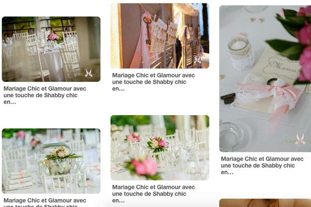 Pinterest : trouver l'inspiration pour votre mariage