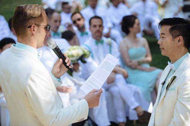 Les voeux de mariage
