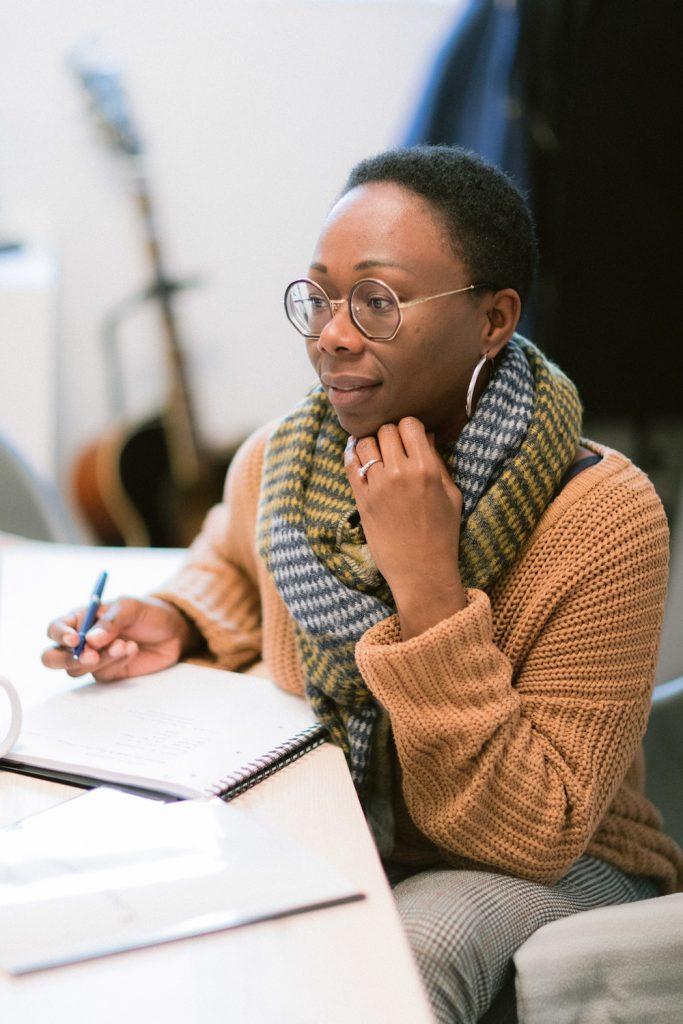 Portrait de chef d'entreprise : Johanna C.