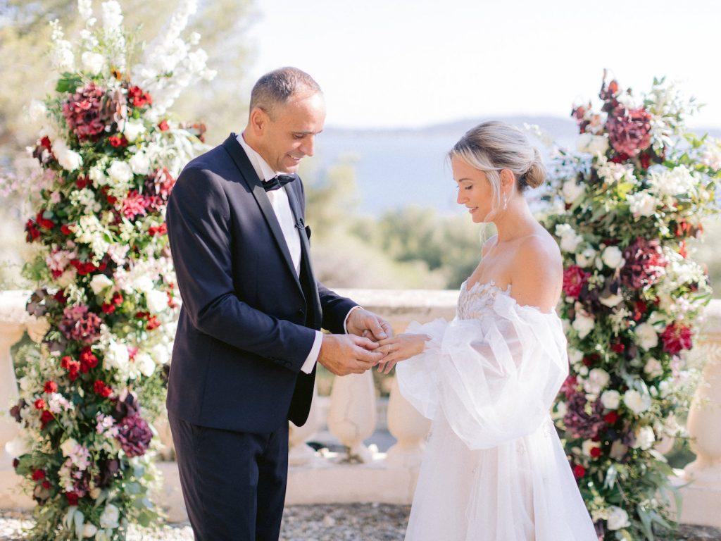echange des alliances - mariage