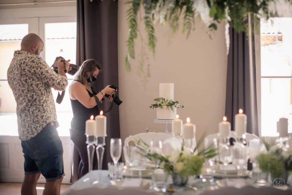 shooting décoration mariage