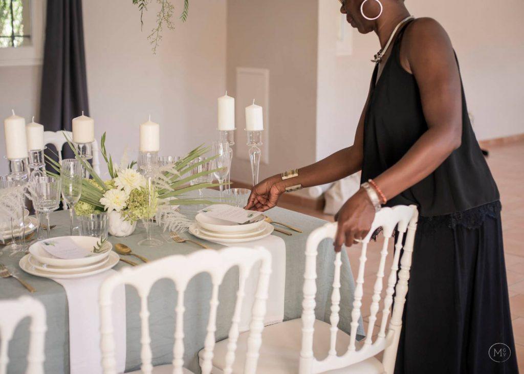 installation decoration mariage