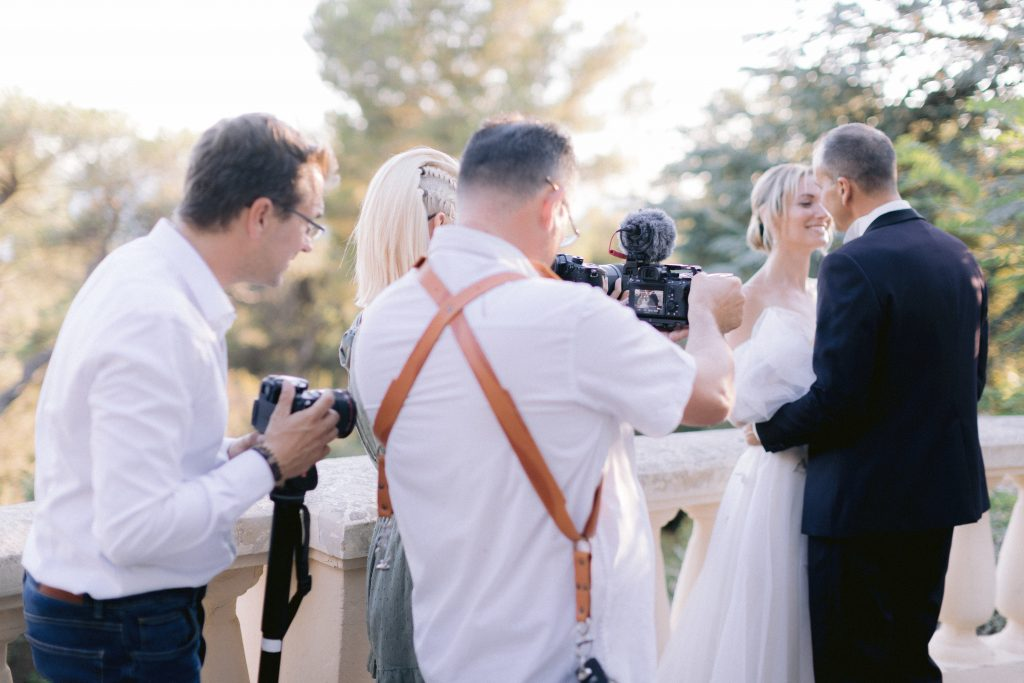 shooting d'inspiration videaste mariage